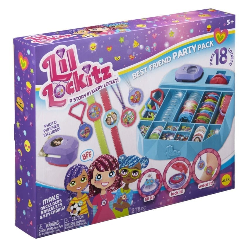 Lil' Lockitz Best Friend Party Pack - Perfect Gift Idea
