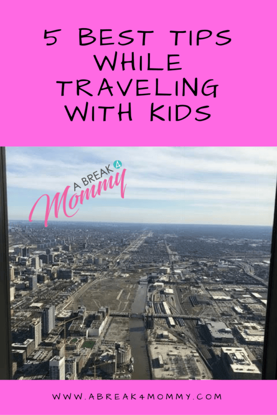 The 5 Best Tips While Traveling With Kids For An Extended Weekend