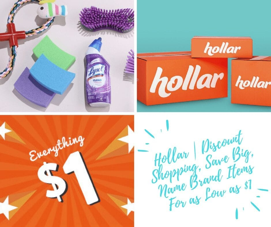 Hollar | Discount Shopping, Save Big, Name Brand Items For as Low as $1