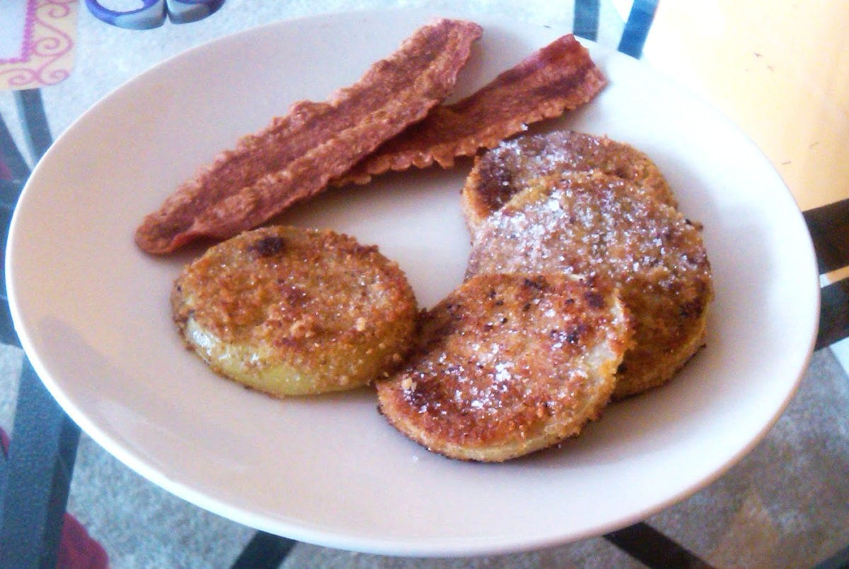 Southern Style Fried Green Tomatoes