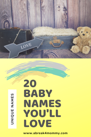 20 baby names you'll love