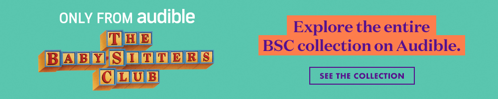 The Baby-Sitters Club BSC collection on Audible banner