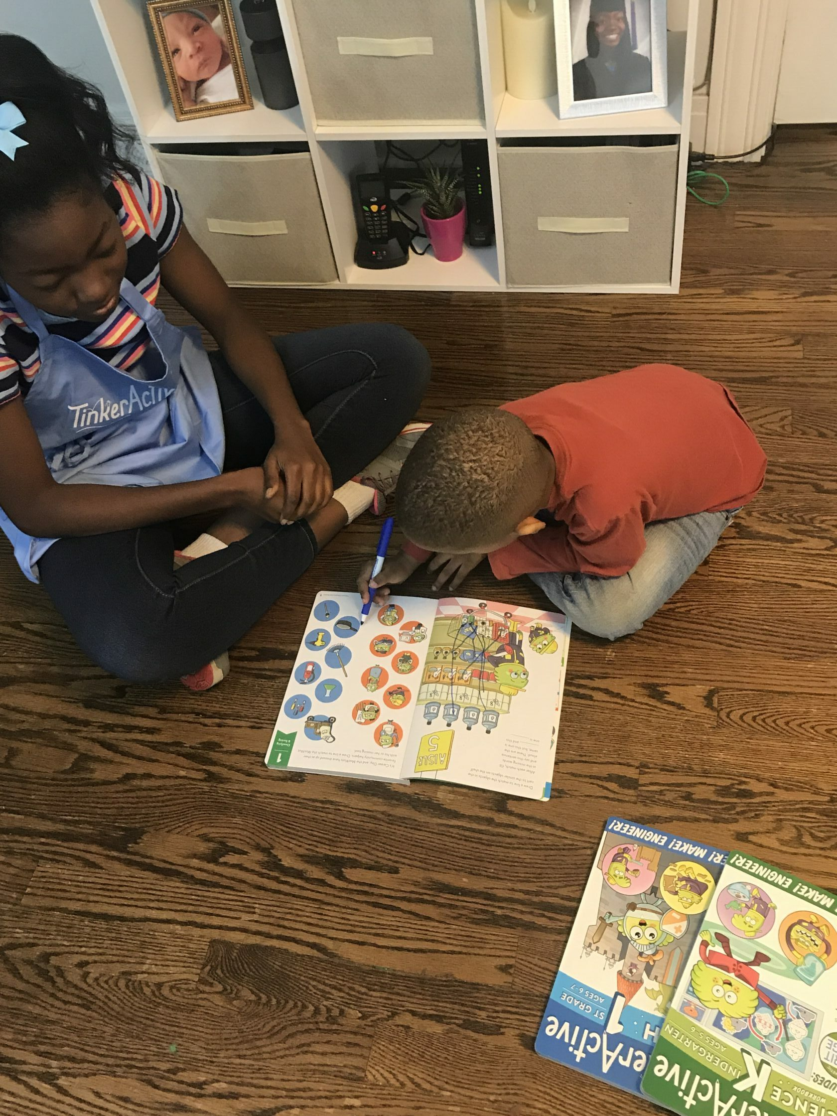 Interactive Learning With TinkerActive Workbooks For K-2nd Grade