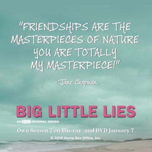 Big Little Lies The Complete Second Season Blu-Ray/ DVD #BigLittleLies