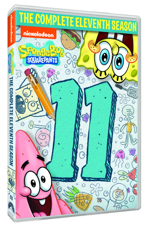 I am excited to share the Eleventh season of SpongeBob SquarePants is coming to DVD. My little guy is a huge SpongeBob fan so this is one I am ready to add to his collection. SpongeBob SquarePants and the unforgettable inhabitants of Bikini Bottom are back for more hilarious hijinks in SpongeBob SquarePants: The Complete Eleventh Season, arriving on DVD March 31, 2020