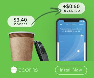 Acorn invest Spare change