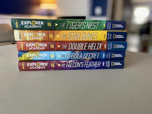 What Have We Been Reading? Explorer Academy: The Nebula Secret (Book 1)