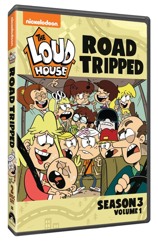 The Loud House Road Tripped Season 3, Volume 1″  DVD Giveaway